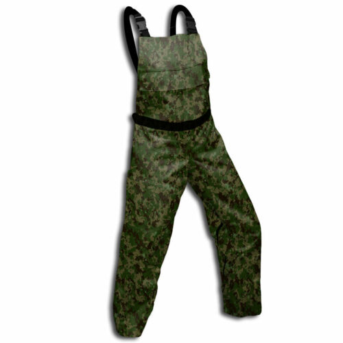 Chainsaw Protective Safety Bibs Camouflage Meet OSHA Standards Bib Chaps