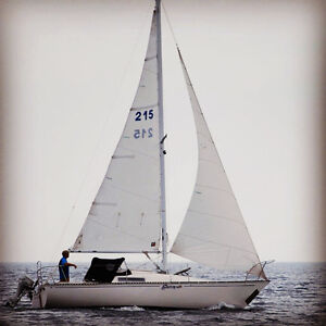 C&C 25 1974 Mark 1 ready to sail condition