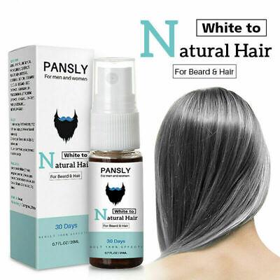 solución Para Canas Restaurar la barba Gris Blanca y El Cabello Al Color Natural segunda mano  Embacar hacia Argentina