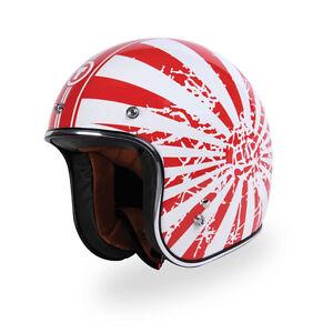 Japanese bobber torc helmet