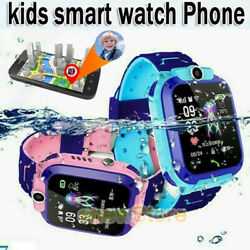 Anti-lost Safe LBS Tracker SOS Call Kids Smart Watch 2G Phone For Android iOS