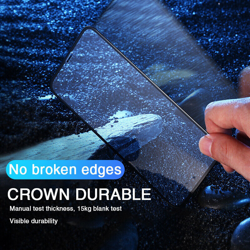 For iPhone 12/Pro Max/Mini/11 Full Cover Tempered Glass Screen Protector Camera Cell Phone Accessories