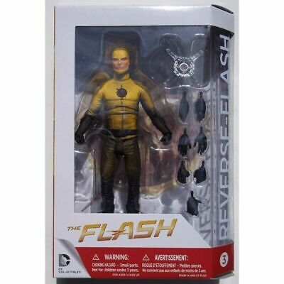 "Flash Reverse-Flash 7"" Deluxe Figure CW TV DC Green Arrow Fl"