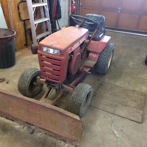 tracteur gratte
