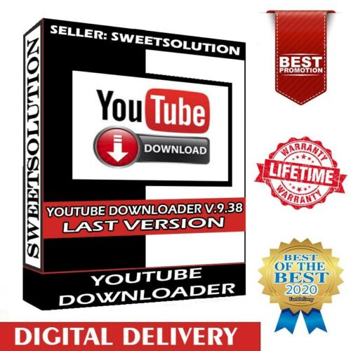 YouTube Downloader Software ✔ Oct 2020 ✔ Last Version ✔ Video Download