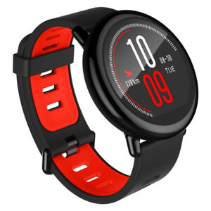 Amazfit A1612 PACE GPS Running Smartwatch, Black Band - 5 Days