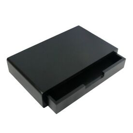 40cm White Black Floating Drawer Shelf CD/DVD Storage Display Shelving Bookshelf
