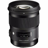 Sigma 50mm F1.4 ART Canon EF Mount