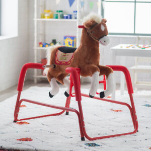Lucky the talking, singing, plush spring horse  $20