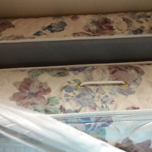 Mattress for twin bed .Box spring and mattress