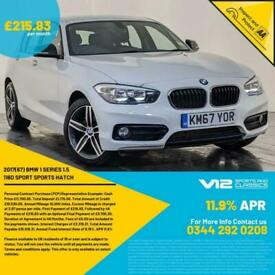 image for 2017 BMW 116D SPORT HATCH AUTO SAT NAV CLIMATE CONTROL 1 OWNER SERVICE HISTORY