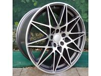 "20"" Staggered Competition wheels for BMW F30 or F31 3 Series Etc"