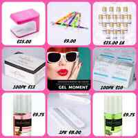 GelMoment Nail Polishes and Supplies