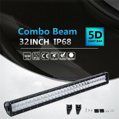 Off Road Barra LED Auto Jeep Camion Spot Flood Combo Work Light <alfanum> 90W comprar usado  Enviando para Brazil