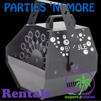 Rental - Automatic Bubble Machine for Party, Wedding more MS