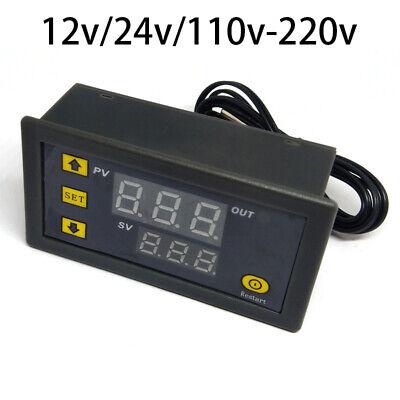 Digital Temp Thermostat Temperature Controller Sensor Regulator 1224110-220v