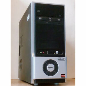 Custom Built Desktop PC AMD 2.70GHz 4GB RAM 320GB HDD DVDRW