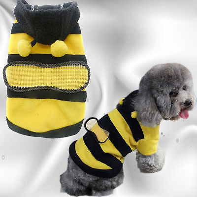 Bumble Bee Costume / Hoodie for Dogs (or Cats)  * Now in 7 x Sizes !!     DCL 10