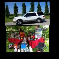 Mobile Auto Detailing suv Fully Loaded 4 sale