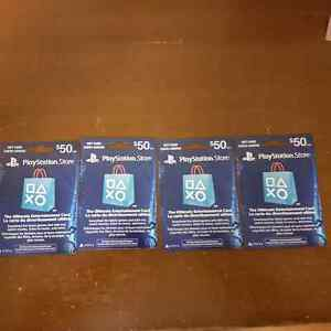 PSN cards for Xbox cards