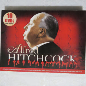 Alfred Hitchcock 10-DVD movie collection