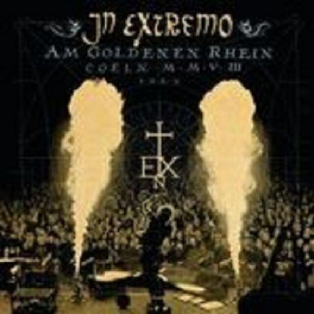 """IN EXTREMO """"AM GOLDENEN RHEIN LIVE"""" 2 CD NEU"""
