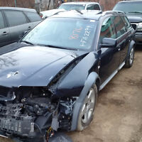 2006 AUDI ALLROAD JUST ARRIVED FOR PARTS AT PIC N SAVE!