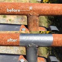 Rust removal, paint removal, graffiti removal, wood refinishing