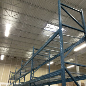 Used Pallet Racking, Shelving, Mezzanines, Installations, Moving