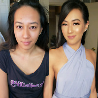 Party Makeup 45$ ( Home Service ) booking accepting