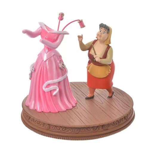 Disney Store Japan 2021 Flora Pink Dress Figure Sleeping Beauty Story Collection