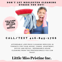 THE BEST CLEANERS IN THE GTA