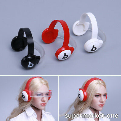 HOT FIGURE TOYS1/6 female goggles removable best headset Model