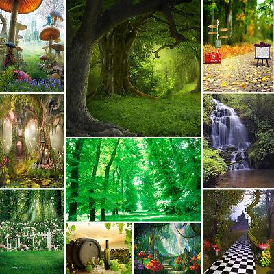 Jungle Forest Vinyl Photography Backdrop Customized Photo Background Studio Prop - Custom Backdrop