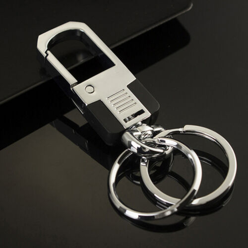 Cool Car Gifts For Guys: Cool Luxury Men Metal Car Key Chain Ring Creative Keyring
