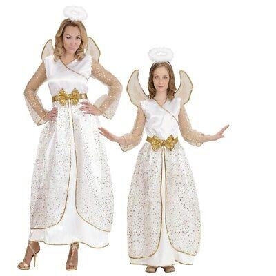 tüm Partnerkostüm für Kleinkinder Kinder Damen - Weihnachten (Gold Engel Kostüm)