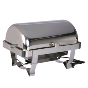 Commercial stainless steel chafer dish. Like new