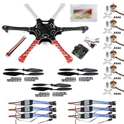 HexaCopter ARF Drone F550 Hex-Rotor FlameWheel Kit+KK Flight Controller Good