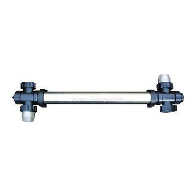 - 75 WATT STAINLESS STEEL UV CLARIFIER 75W FOR KOI FISH POND POOL FOUNTAIN