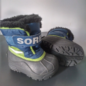 SOREL WINTER BOOTS FOR TODDLER (2 PAIRS)