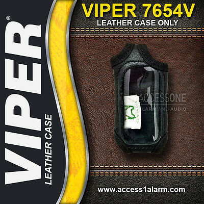 Viper 7654V High Quality Leather Remote Control Protective Case For Viper 5501