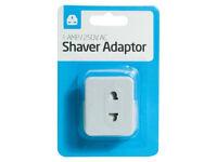 joblot 24x 1Amp/250v Travel Shaver Plug Adaptors wholesale clearance stock