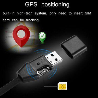Hidden wireless GSM SIM Spy USB cable design audio sound voice listening bug New