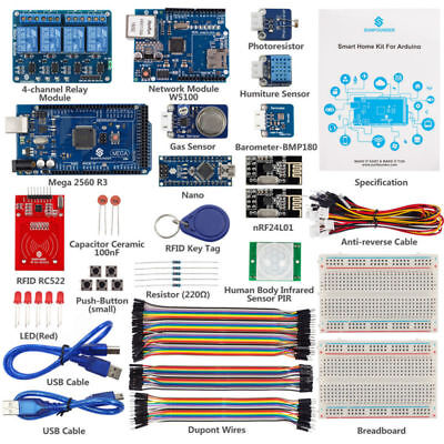 Smart Home Iot Internet Of Things Starter Kit V2 0 For Arduino Diy Project Senso