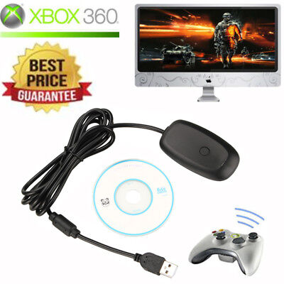 2.4 GHz Microsoft Xbox 360 USB Wireless Receiver Game Controller Adapter NEW for sale  Mountainside
