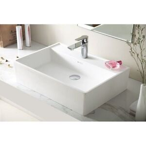 Square Above Counter Stone Basin with Tap Hole Springvale Greater Dandenong Preview