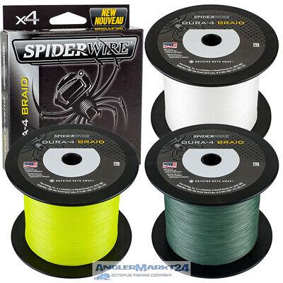 Spiderwire Stealth Green 10m Geflochtene Schnur Braid Line Angelschnur Sehne