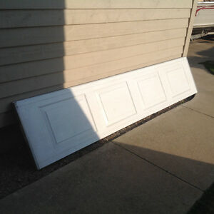 Garage door panel must go