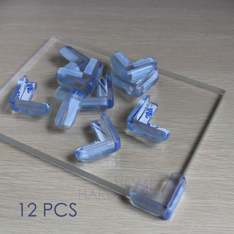 Corner Protector Glass Table Top Edge Safety Soft Rubber
