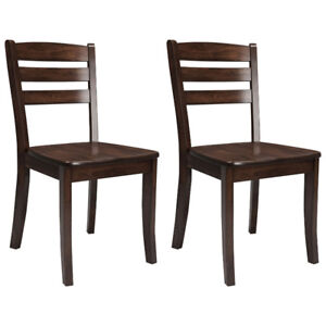 Dillon Contemporary Dining Chair with Horizontal Slat - Set of 2